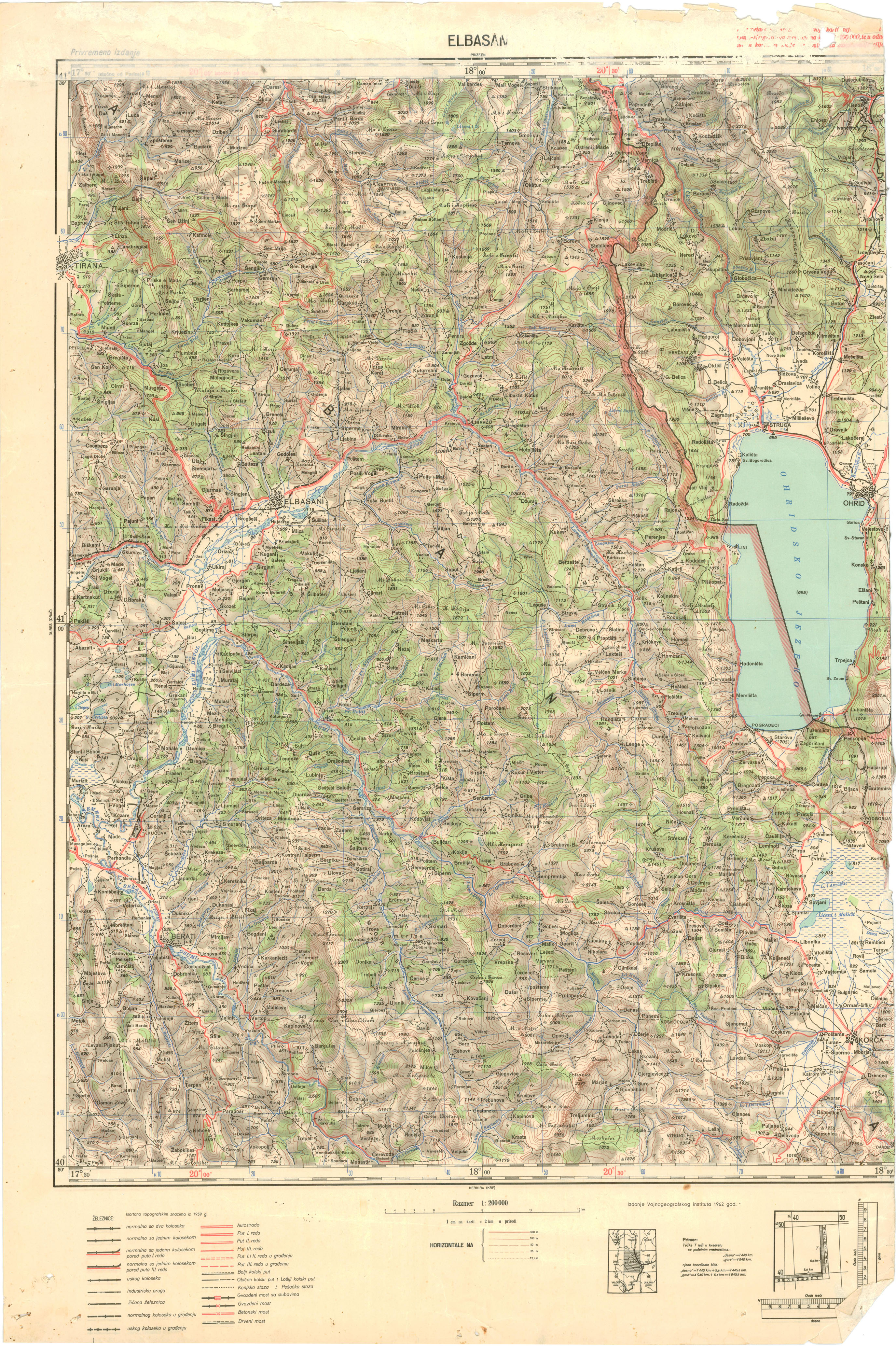 Detailed Topographical Maps of Macedonia and Surrounds on